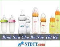 Bình Sữa Cho Bé Nào Tốt Rẻ Nhất Hiện Nay ?