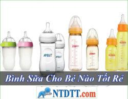 Bình Sữa Cho Bé Nào Tốt Rẻ Nhất Hiện Nay 2020?
