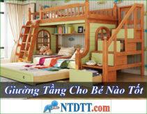 Giường Tầng Cho Bé Nào Tốt Rẻ Nhất Hiện Nay?