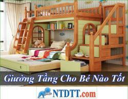 Giường Tầng Cho Bé Nào Tốt Rẻ Nhất Hiện Nay 2020?