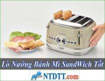 Lò Nướng Bánh Mì SandWich Nào Tốt Rẻ Nhất Hiện Nay ?