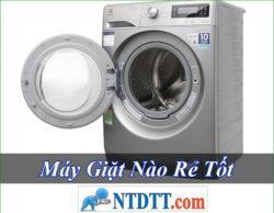 Máy Giặt Nào Tốt Rẻ Nhất Hiện Nay 2020?