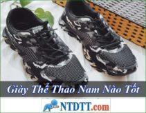 Giày Thể Thao Nam nào tốt rẻ nhất hiện nay ?