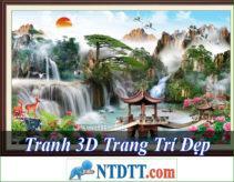 Tranh 3D Trang Trí Nào Tốt Rẻ Nhất Hiện Nay 2020?