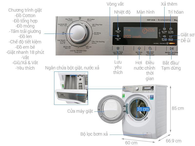 Electrolux EWF12938