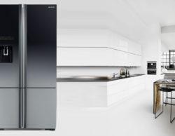 3 mẫu tủ lạnh Hitachi side by side, ngăn đá trên, dưới mới nhất 2019