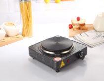 Đánh giá bếp điện đơn Hasu tốt không: Thiết kế, Công suất, Giá bán