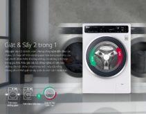 4 máy giặt sấy LG tốt nhất đa năng cho gia đình nhỏ giá từ 13tr
