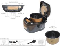 Hướng dẫn sử dụng nồi cơm điện tử Panasonic các chức năng chi tiết