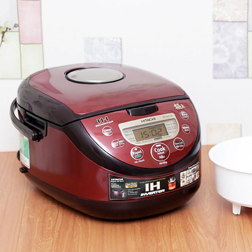 Nồi cơm điện cao tần Hitachi RZ-GHE18Y 1.8 lít