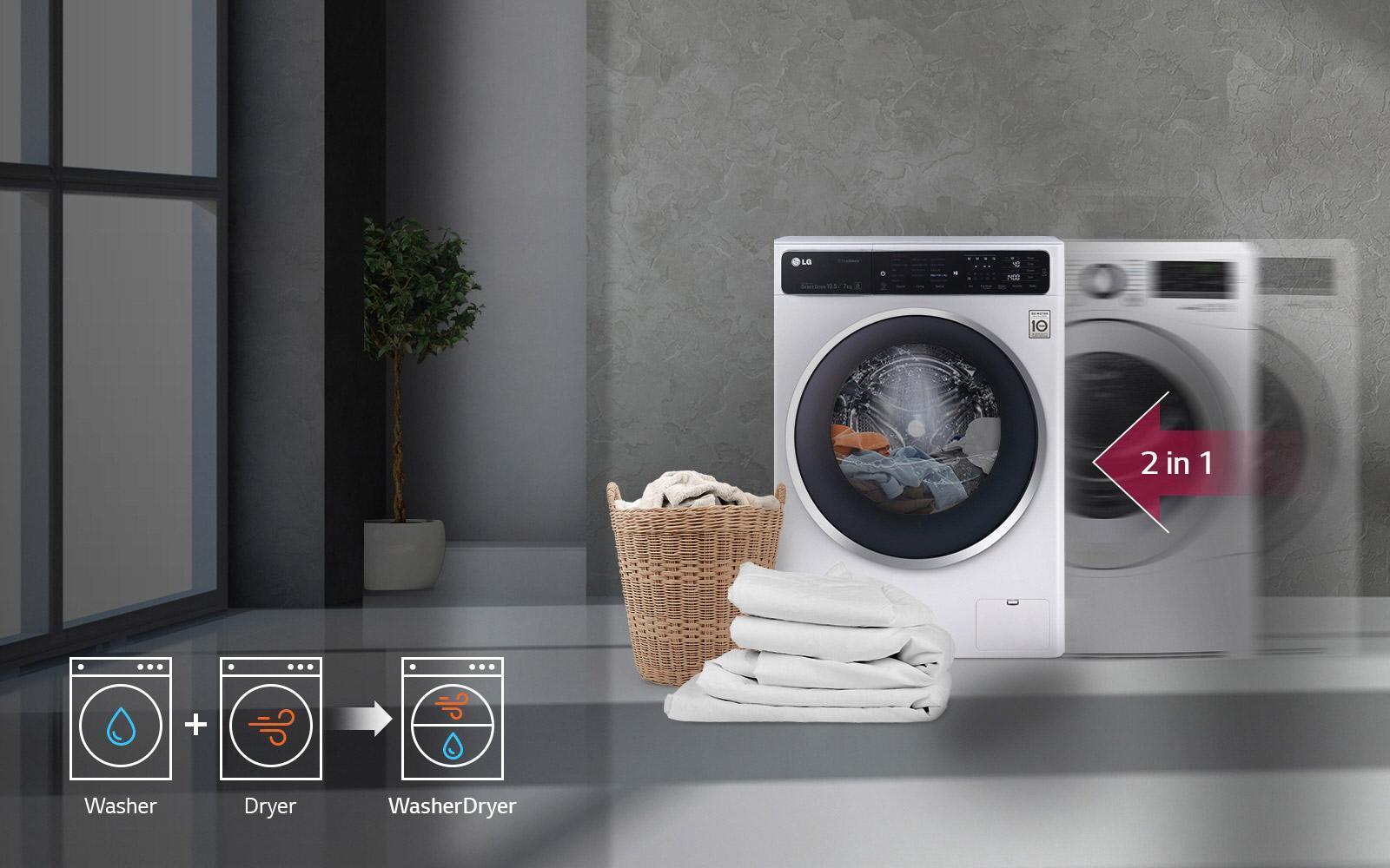 Có nên mua máy giặt sấy khô không cần phơi tiết kiệm điện cho gia đình -  NTDTT.com