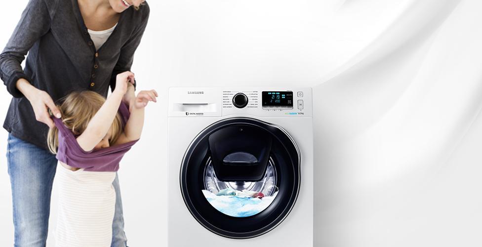 Mẫu máy giặt Samsung cửa trước