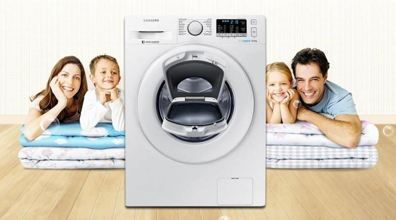 Máy giặt Samsung kiểu dáng đẹp