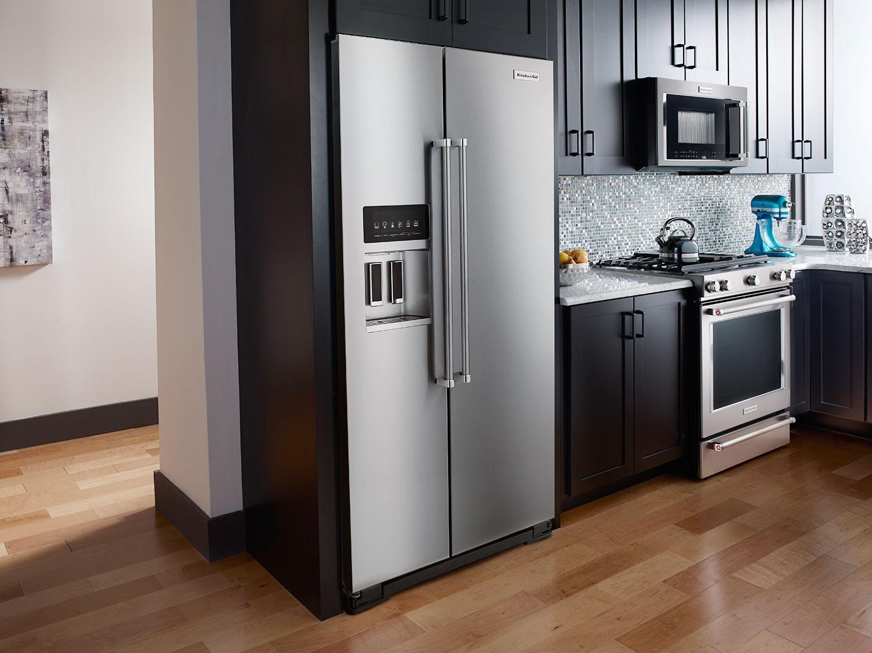 Tủ lạnh Side by Side thường có kích thước lớn