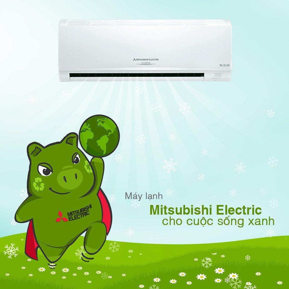 Máy lạnh Mitsubishi thân thiện với môi trường