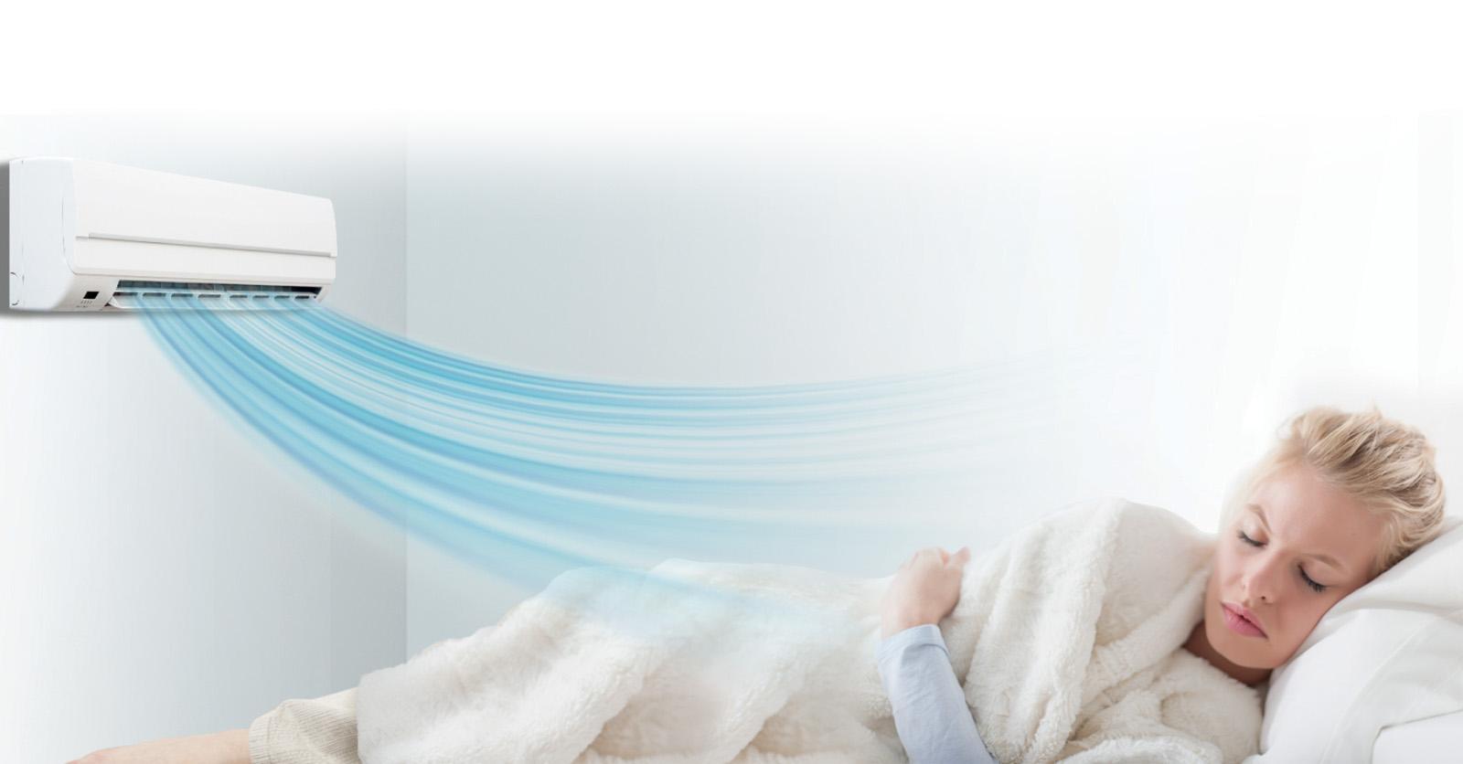 Điều hòa LG 1.0HP V10ENF cho người dùng cảm giác dễ chịu nhất khi sử dụng