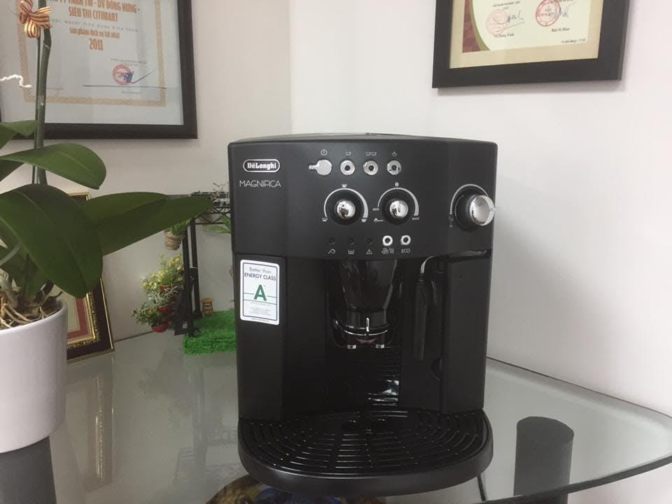 Máy pha cà phê dùng cho văn phòng Delonghi ESAM 4000.B