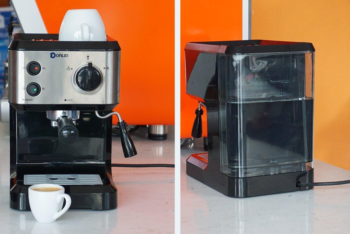 Máy pha cà phê dùng dành cho văn phòng tiện dụng