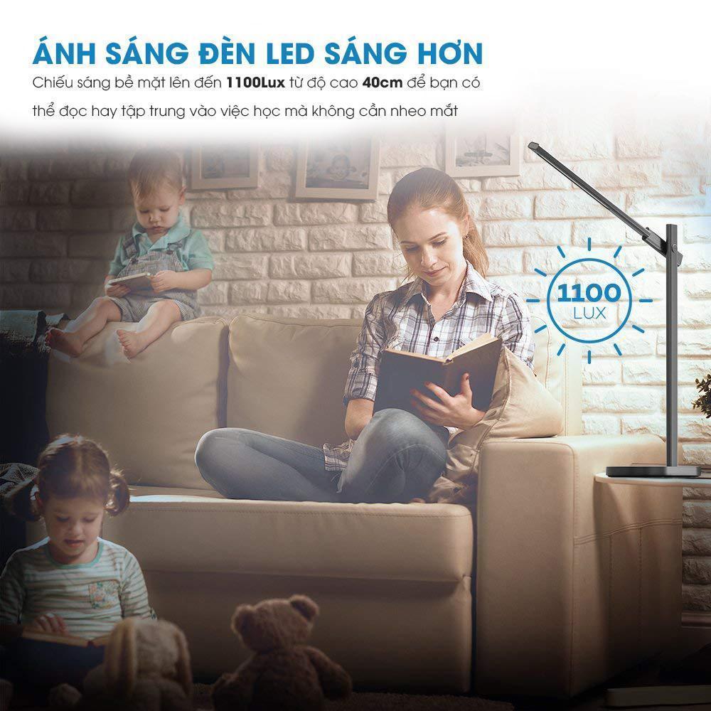Đèn bàn TaoTronics TT-DL030 phù hợp với nhiều người dùng